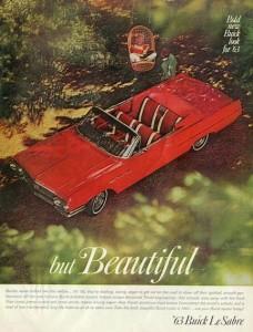 Buick convertible de 1963.