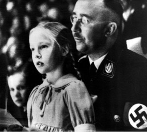 Anna Goebbels, una niña de armas tomar.