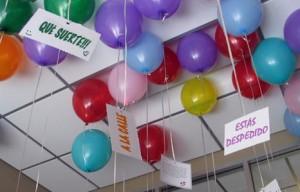 Cualquier cosa es una fiesta si hay globos